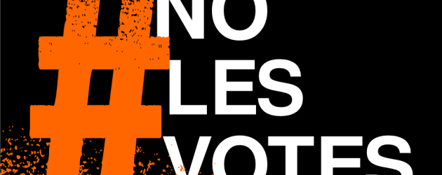 #Nolesvotes… ¡vótate a ti mism@!