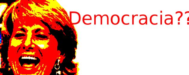 ¿»Cambios en la democracia»? ¿Cómo dice, joven?