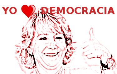 Esperanza Aguirre nos llama golpistas a los partidarios de la Democracia Directa